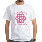 Celtic Knot Bride's Daughter White T-Shirt