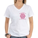 Celtic Knot Bride's Daughter Women's V-Neck T-Shir