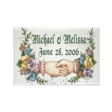 Wedding Sample 3 Rectangle Magnet (10 pack)
