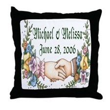 Wedding Sample 3 Throw Pillow