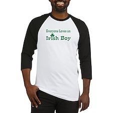 Everyone loves an Irish Boy Baseball Jersey