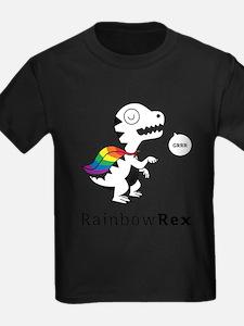 Rainbow Rex Grrr T-Shirt