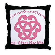 Celtic Knot Bride's Grandmother Throw Pillow