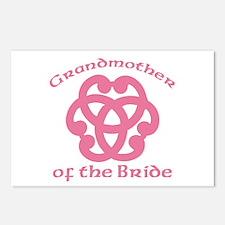 Celtic Knot Bride's Grandmother Postcards (Package