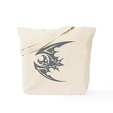 Bat #40 Gray Tote Bag