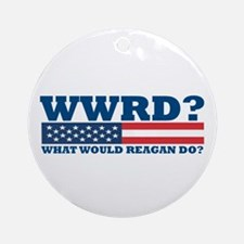 WWRD? Ornament (Round)