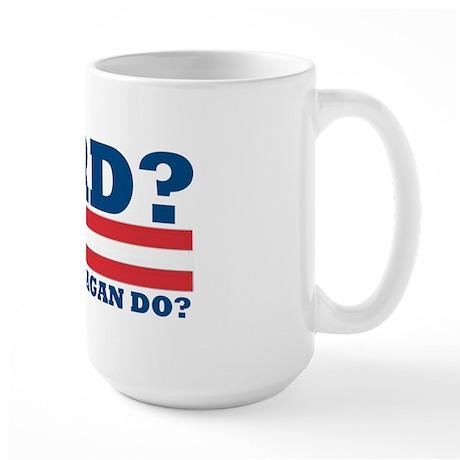 WWRD? Large Mug