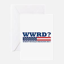 WWRD? Greeting Card