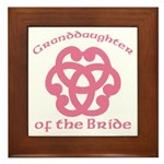 Celtic Knot Bride's Granddaughter Framed Tile