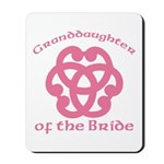 Celtic Knot Bride's Granddaughter Mousepad