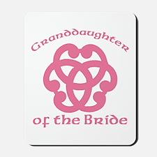 Celtic Knot Bride's Granddaughter Mousepad