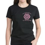 Celtic Knot Bride's Granddaughter Women's Dark T-S