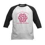 Celtic Knot Bride's Granddaughter Kids Baseball Je