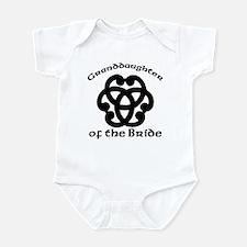 Celtic Knot Bride's Granddaughter Infant Bodysuit