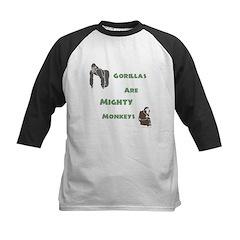 Gorillas Are Mighty Monkeys Tee