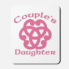 Celtic Knot Couple's Daughter Mousepad