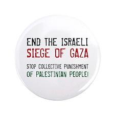 """Cute Gaza 3.5"""" Button"""
