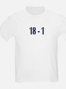 Giants Super Bowl Champs (18-1) T-Shirt