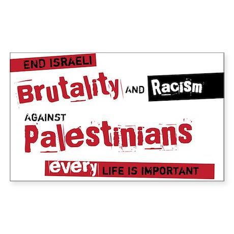 Palestine Rectangle Sticker