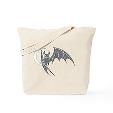 Bat #28 Gray Tote Bag