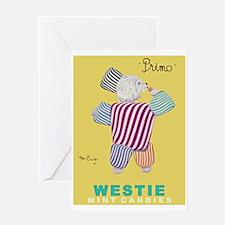 Westie Mints Greeting Card
