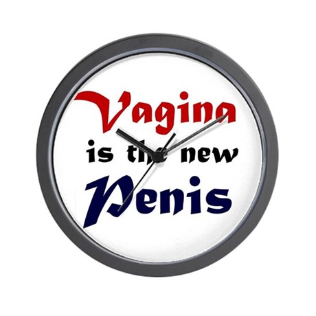 Vagina is the new Penis Wall Clock