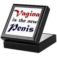 Vagina is the new Penis Keepsake Box