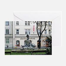 In Bratislava Greeting Card