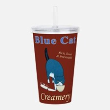 Blue Cat Creamery Acrylic Double-wall Tumbler