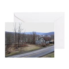 The old barn Greeting Cards (Pk of 20)