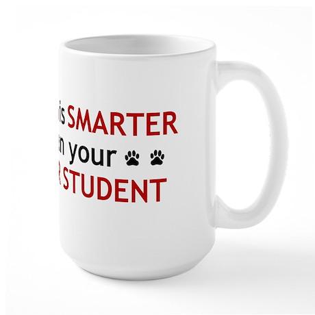 My Dog is Smart Large Mug