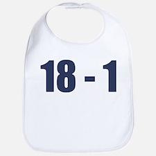 NY Giants Super Bowl Champs (18-1) Bib