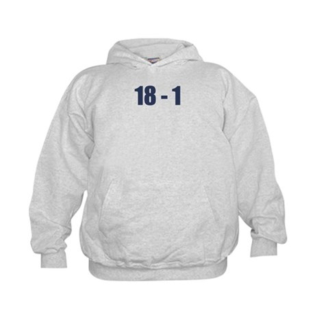 NY Giants Super Bowl Champs (18-1) Kids Hoodie