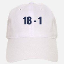 NY Giants Super Bowl Champs (18-1) Baseball Baseball Cap