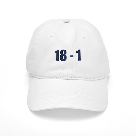 NY Giants Super Bowl Champs (18-1) Cap