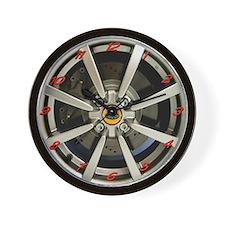 Elise 8 Spoke Wheel Wall Clock