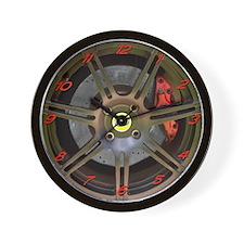 Elise/Exige Black Wheel Wall Clock