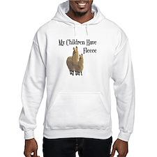 My Children Are Alpacas Hoodie