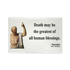 Socrates 15 Rectangle Magnet (100 pack)