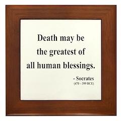 Socrates 15 Framed Tile