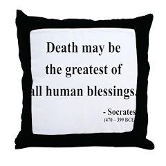Socrates 15 Throw Pillow