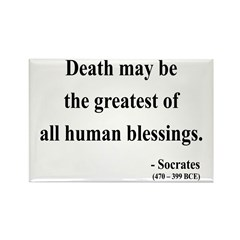 Socrates 15 Rectangle Magnet (10 pack)