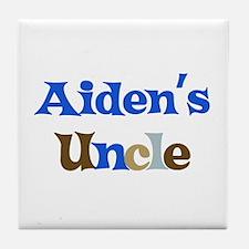 Aiden's Uncle  Tile Coaster