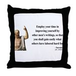Socrates 16 Throw Pillow