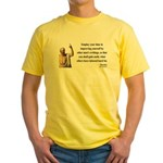 Socrates 16 Yellow T-Shirt