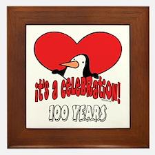 100th Celebration Framed Tile