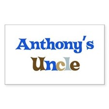 Anthony's Uncle Rectangle Decal