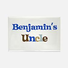 Benjamin's Uncle Rectangle Magnet