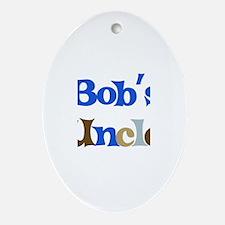 Bob's Uncle  Oval Ornament