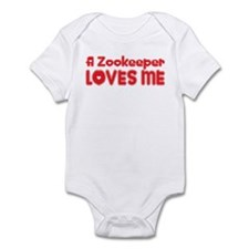 A Zookeeper Loves Me Infant Bodysuit
